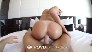 Horny Housekeeper Does All For a Tip   POVD