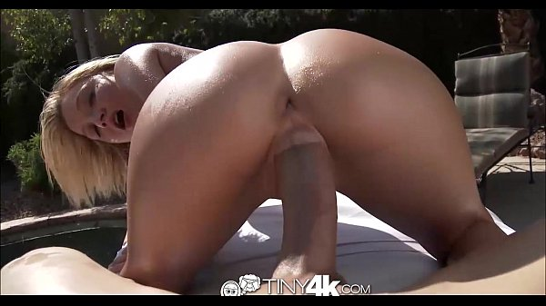 Riding Cock At Poolside | Tiny4K